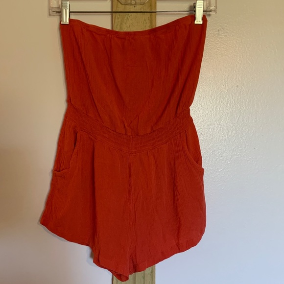 Papaya Other - Coral romper